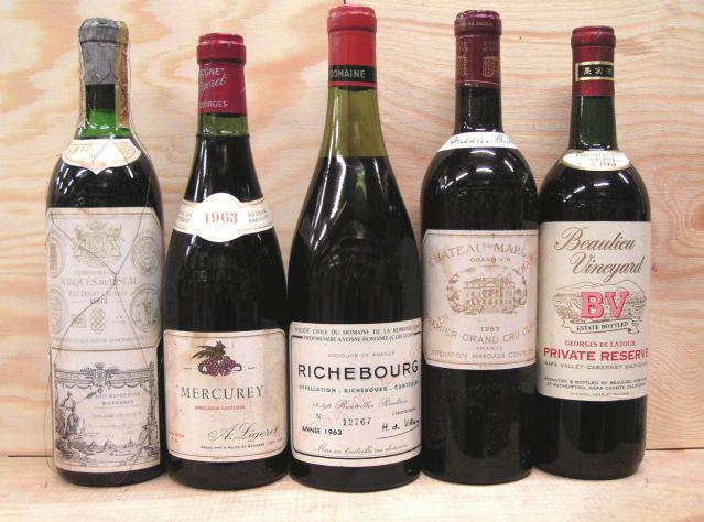 1963年生まれのワイン好きの方たちへ