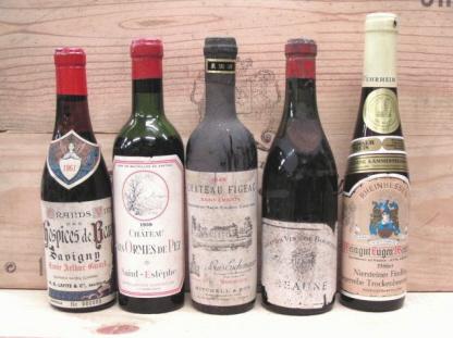 中田屋ワイン会 ドゥミブテーユ 過去のワインリストメニュー