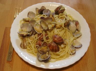 スピガドーロ・スパゲッティーニを使った「ボンゴレ・ビアンコ」